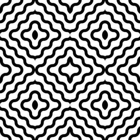 oriental vector: Vector Abstract Seamless Oriental Pattern Illustration