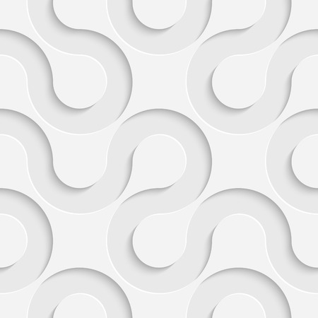 Vector Abstract Seamless Stripes Pattern