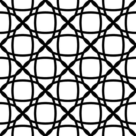 Vector Abstract Seamless Circle Background Vector