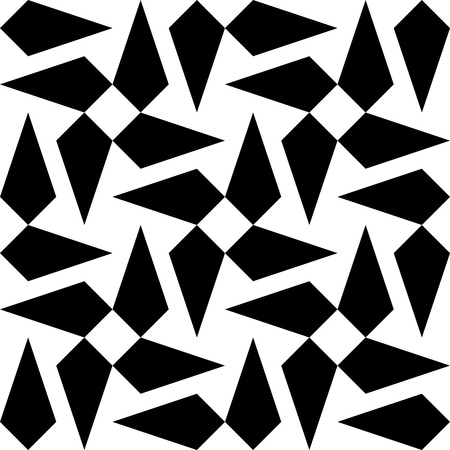 monochrome: Vector Abstract Seamless Monochrome Background