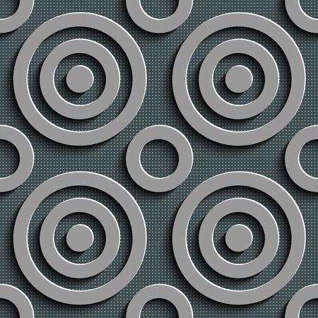 patron de circulos: Vector incons�til abstracto del modelo de los c�rculos