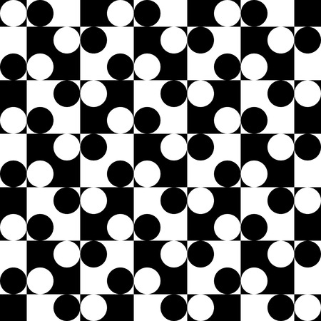 monochrome: Vector Abstract Seamless Monochrome Pattern