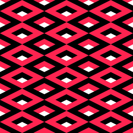 repeat structure: Vector Abstract Seamless Cube Background Illustration