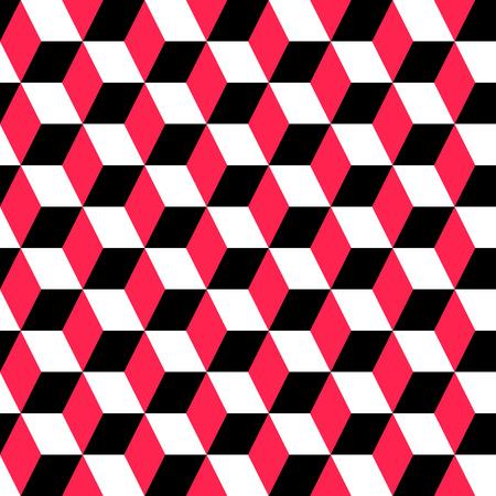 Vector Abstract Seamless Geometric Ornament Stock Illustratie
