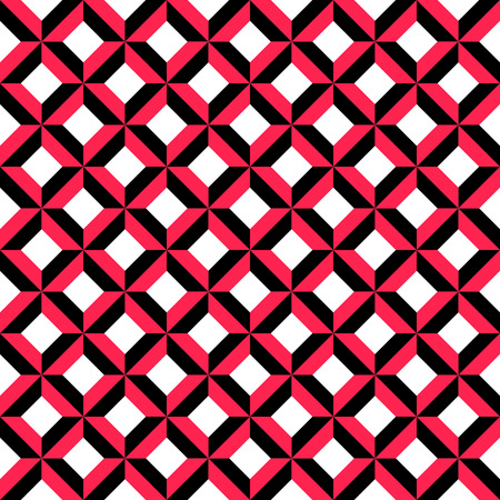 funky music: Vector Abstract Seamless Squares Background Illustration