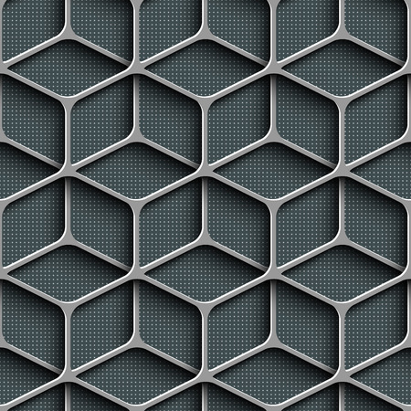 Vector Abstract Seamless Grid Background Vector