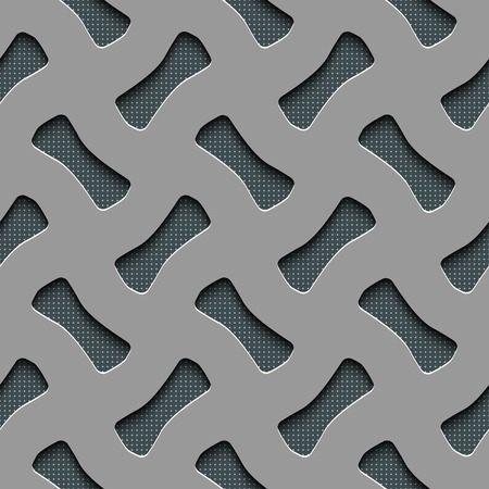 perforated surface: Vector Abstract Seamless Technology Background