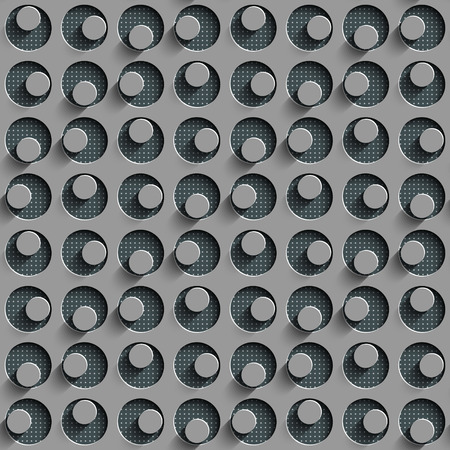 perforated surface: Abstract Seamless Perforated Background