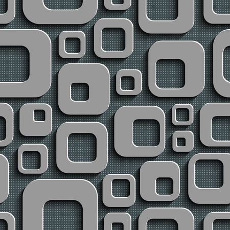 squares background: Abstract Seamless Squares Background
