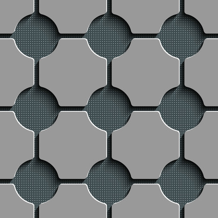 metal pattern: Vector Abstract Seamless Decorative Background Illustration