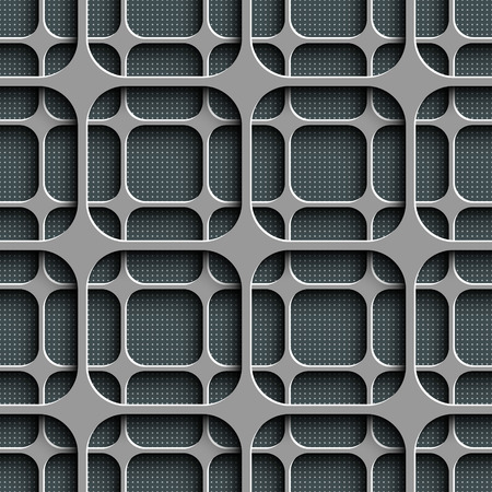 Vector Abstract Seamless Grid Background