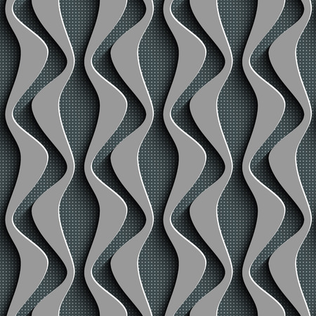 Vector Abstract Seamless Wave Background Vector