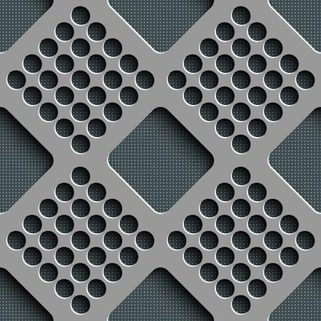 metal lattice: Vector Abstract Seamless Geometric Pattern