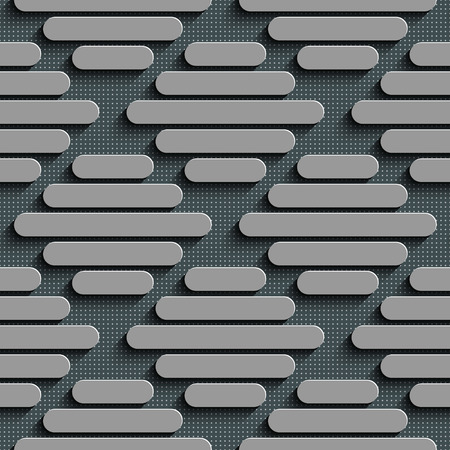 Vector Abstract Seamless Stripe Background Vector