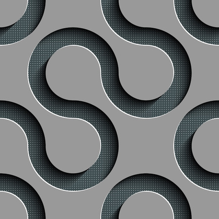 wave vector: Vector Abstract Seamless Wave Pattern Illustration