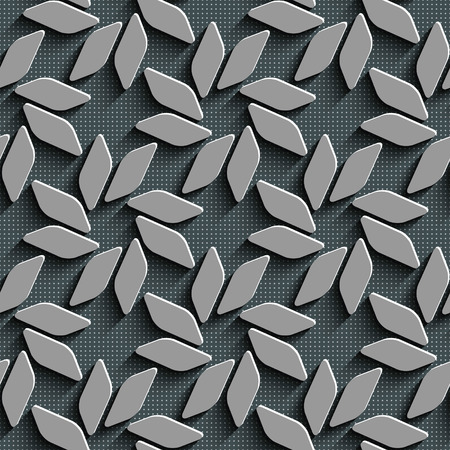 Vector Abstract Seamless Mosaic Pattern Vector