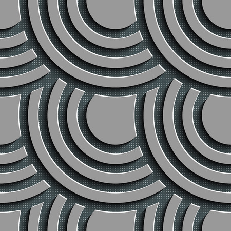 Vector Abstract Seamless Circle Background Vector