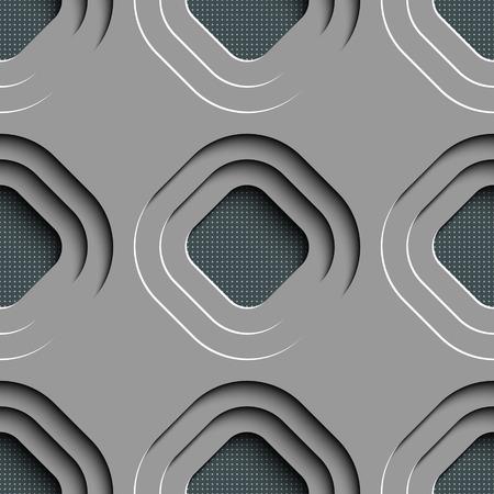 metal lattice: Vector Abstract Seamless Lattice Background