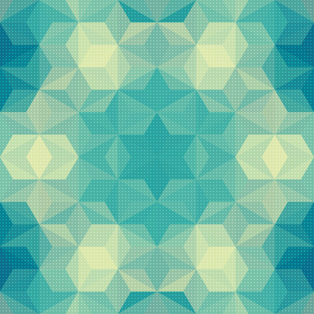 Vector Abstract Modern Psychedelic Pattern Vector