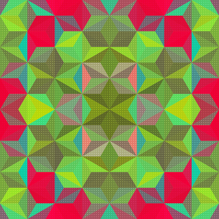 christmas seamless pattern: Vector Abstract Modern Psychedelic Pattern Illustration