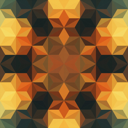 Vector Abstract Mosaic Pattern or Background Vector