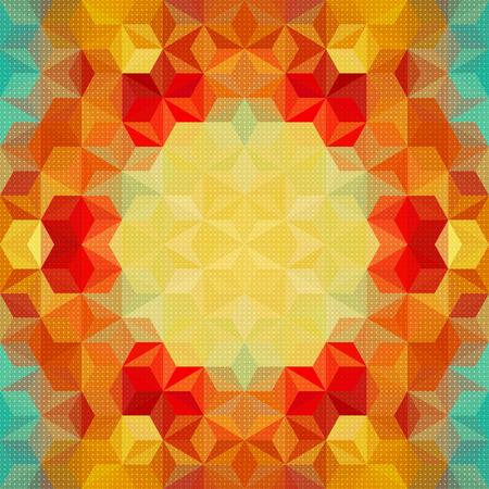 Vector abstrakte farbenfrohe Muster-Hintergrund