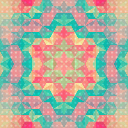 Vector Abstract Colorful Pattern Background