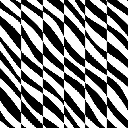 abstract seamless: Vector Abstract Seamless Zebra Background Illustration