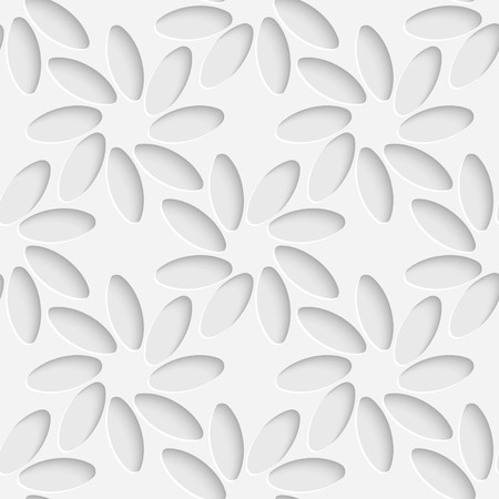 background flower: Vector Abstract Seamless Flower Background
