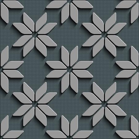gray texture background: Seamless Star Pattern. Vector Background. Gray Regular Texture