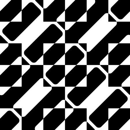 stripe pattern: Seamless Diagonal Stripe Pattern. Vector Black and White Background