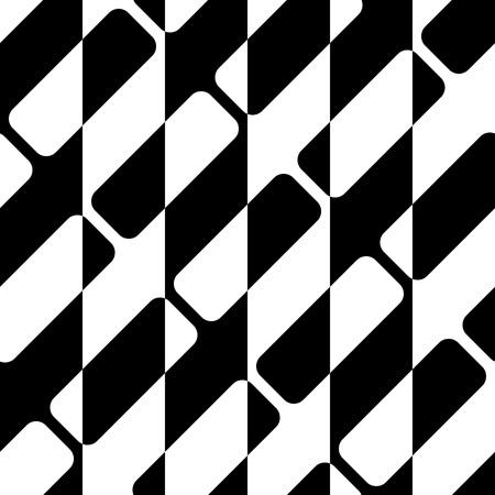rayas: Seamless Stripe Pattern. Vector Geometric Background. Regular Black and White Texture