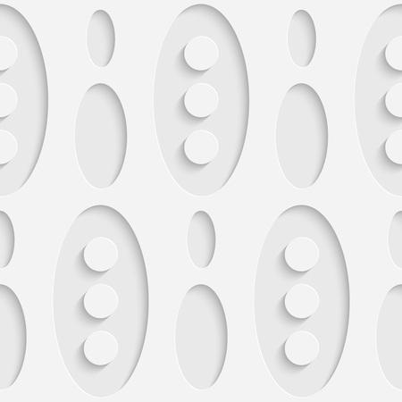 elipse: Sin fisuras Elipse y del modelo del c�rculo. Vector el fondo suave. Textura blanca regular Vectores