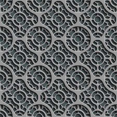metal pattern: Seamless Grid Pattern. Abstract Gray Background. Vector Regular Texture