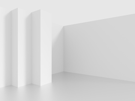 construction projects: Interior Background. White Abstract Background