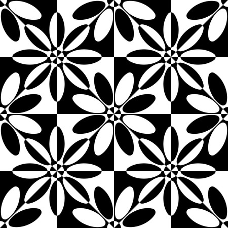 vintage patterns: Seamless Flower Pattern.