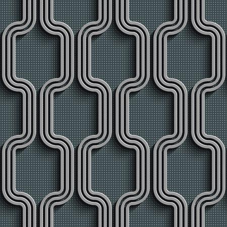 regular: Seamless Stripe Pattern. Abstract Gray Background. Vector Regular Texture Illustration
