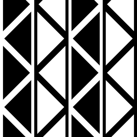 triangle pattern: Seamless Triangle Pattern. Abstract Monochrome Background. Vector Regular Texture Illustration