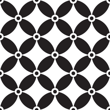 regular: Seamless Circle Pattern. Vector Regular Texture Illustration