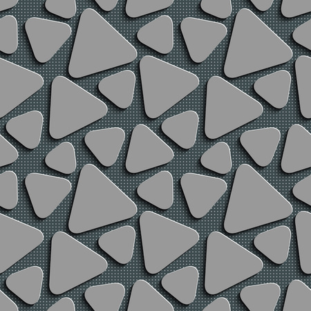 gray texture background: Seamless Triangle Pattern. Abstract Gray Background. Vector Regular Texture