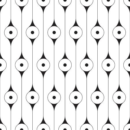 Modèle de cercle transparente. Vector texture régulière
