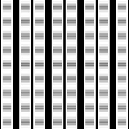 geometric lines: Seamless Vertical Stripe Pattern. Vector Black and White Background