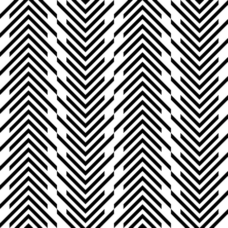 geometric lines: Seamless Stripe Pattern. Vector Black and White Texture Illustration