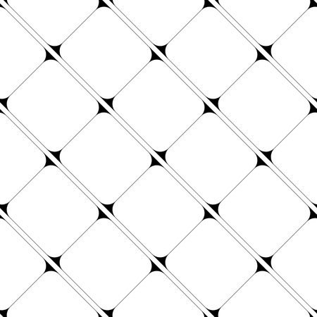 simple: Seamless Grid Pattern. Vector Black and White Background. Regular Texture Illustration