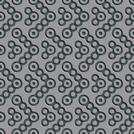 regular: Seamless Geometric Pattern. Abstract Gray Background. Vector Regular Texture