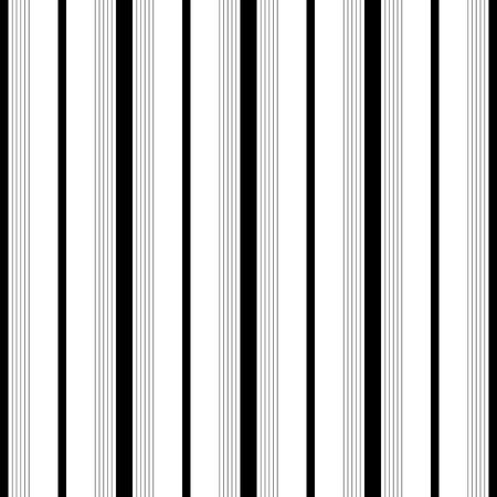 vertical: Modelo de la raya vertical sin fisuras. Vector y Negro Fondo blanco