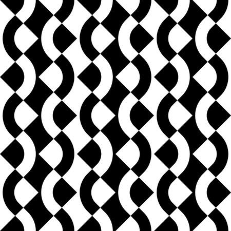 regular: Seamless ZigZag Pattern. Abstract  Monochrome Background. Vector Regular Texture Illustration