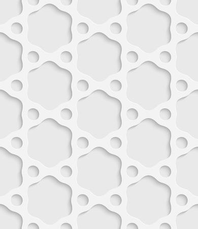 pattern background: Seamless Ring Pattern. Vector Oriental Background. Regular White Texture