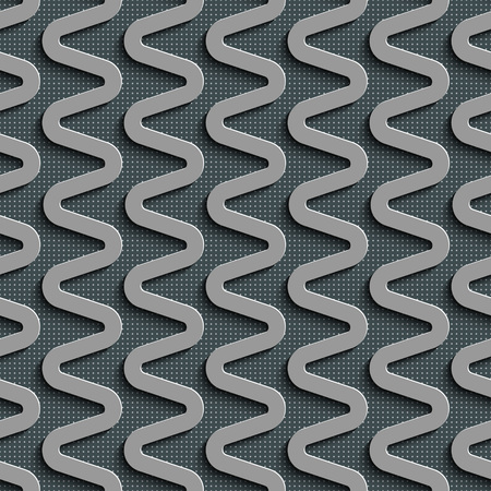regular: Seamless  Zigzag Pattern. Abstract Gray Background. Vector Regular Texture