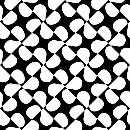 monochrome: Seamless Flower Pattern.